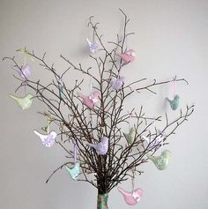 Easter tree - I want to make this pussy willows!