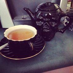 Skull Ceramic Novelty Teapot - $29.95