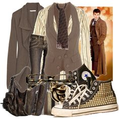 Femme 10. I love the shirt and vest but I don't like the shoes much :/