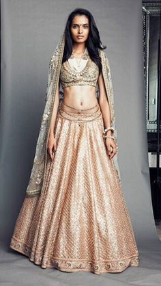 Sabyasachi Indian designer wedding lehenga