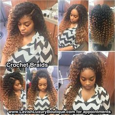 Crochet Braids Good For Your Hair : ... about Crochet Braids on Pinterest Crochet braids, Curls and Twists