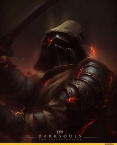 Dark Souls 3, Dark Souls, fandom, DS art, hyphas in komentah