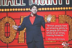 Michael McIntyre Comedy Quotes - British People