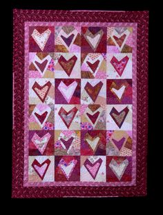 Love this quilt! Maybe one day I'll have the time to try it.