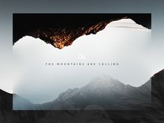 Minimalist art 489273947015032737 - The mountains are calling … ☘☘— Visit shop canvas Graphic Design CLIC HERE –☘☘ design portfolio design ideas design typography de Source by distorsionwill Layout Design, Graphisches Design, Logo Design, Graphic Design Typography, Design Ideas, Web Layout, Design Model, Branding Design, Portfolio Design