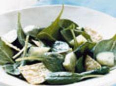 Creamy Spinach Salad Dressing - Dee Dee's Recipe