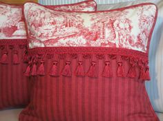 French Country Pillow Cover French by ComfortsofHomeDecor on Etsy