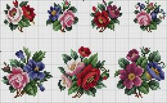Crochet Flower Spirals In Center Tutorial 59 Part 1 of 2 - Crochet Swaddle Cross Stitch Borders, Cross Stitch Rose, Cross Stitch Flowers, Cross Stitch Charts, Cross Stitch Designs, Cross Stitching, Cross Stitch Patterns, Beaded Embroidery, Cross Stitch Embroidery