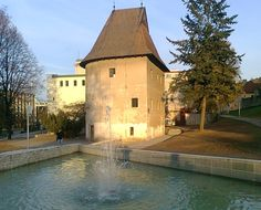The Bastion by Musical Fountain, Bardejov Amazing Pictures, Czech Republic, Hungary, Poland, Fountain, Medieval, Explore, Group, Mansions