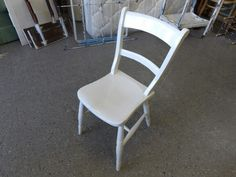 Wooden chair ---------------- £5 (pc310)