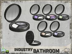 Part of the *Bathroom Industry* Found in TSR Category 'Sims 4 Clutter'