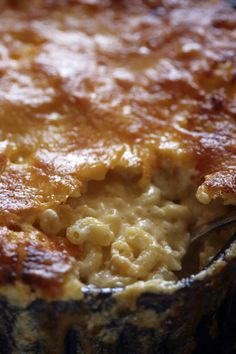Recipe: Creamy macaroni and cheese || Photo: Andrew Scrivani for The New York Times