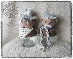 Abraham en sarah...voor een klein bedrag van € 1.50 per haakpatroon. Ga naar www.biekiesplace.nl en bestel je haakpatroon.