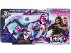 Nerf Rebelle Autoquiver Bow com 6 Flechas - Hasbro com as melhores condições você encontra no Magazine Siarra. Confira!