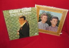 Two Vintage Albums, Bobby Darin & Everly Brothers by trackerjax on Etsy Bobby Darin, Ray Charles, Used Vinyl, Darning, Lps, Albums, Singing, Unique Jewelry, Handmade Gifts