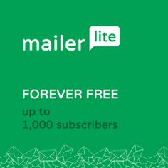 Stop paying for email marketing! ALL paid features for free with Mailerlite. Check out my review to learn more.  http://kennethtabor.com/mailerlite-free-email-marketing/
