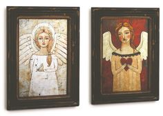 Silvestri Everyday 2 Piece Angel Wall Art Set