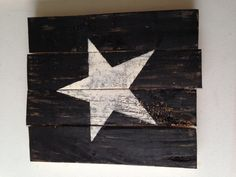 STAR - Reclaimed Pallet Wood Sign - Barn Star - Country Home Decor - Primitive - Shabby Chic on Etsy, $25.00