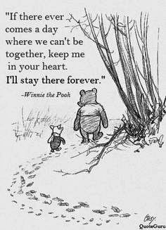 Wisdoms of the Pooh Bear: I think we dream so we don't have to be apart for so long. If we're in each other's dreams, we be together all the time. ~ Winnie the Pooh Cute Quotes, Great Quotes, Short Quotes, Funny Quotes, Top Quotes, Quotes Inspirational, Motivational Quotes For Friends, Inspirational Quotes About Friendship, Humour Quotes