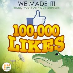 Safari Ltd ® We reached 100,000 likes on our Facebook page and to celebrate with you all we are offering 10% off all purchases made on our website from now till Sunday. Thank you to all our fans for making this possible!   Go to: www.safariltd.com  Promo Code: Facebookl