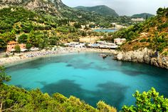 Call (310) 882-5039 if you are looking for Orange County ceremony officiants. https://OfficiantGuy.com This pin is: Paleokastritsa Bay, #Corfu, #Greece.