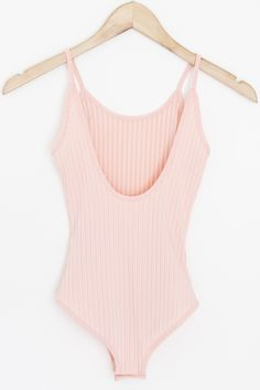 """- Details - Size - Shipping - • 93% Polyester 7% Spandex • Open back ribbed body suit with snap closure • Hand Wash • Line dry • Imported • Measured from small • Length 22"""" • Chest 10.5"""" • Waist 9.5"""""""