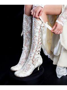 Victorian Boots - Wedding Boots UK   Bridal Hotspot
