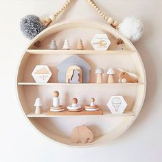 10 of the most stylish wall shelf options for a nursery or child's room on any budget Planning on decorating your child's room? A wall shelf is a staple in any kids space and we've rounded up the most stylish wall shelf options at all budgets Nursery Shelves, Wall Shelves, Baby Room Decor, Nursery Decor, Boy Decor, Nursery Room, Kids Room Furniture, Shelf Furniture, Kids Room Organization