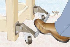 Leg lifts made easy | WOOD Magazine