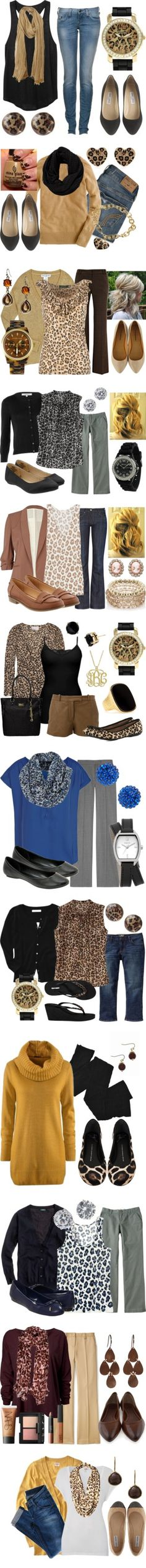 """Leopard Print Love"" Smith Lamb Look! It's our Cheetah Girls outfits ; Dress Outfits, Casual Outfits, Cute Outfits, Fashion Outfits, Classy Outfits, Work Outfits, Fall Winter Outfits, Autumn Winter Fashion, Looks Style"