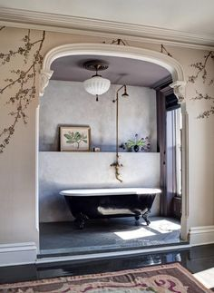 Bathroom elegance at its most elemental.