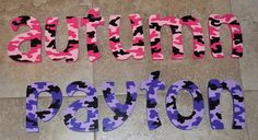Hey, I found this really awesome Etsy listing at http://www.etsy.com/listing/100574442/personalized-wooden-letters-for-kids