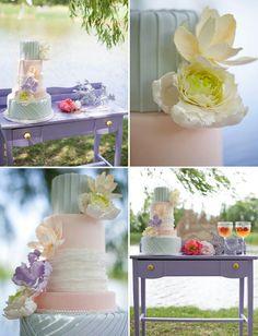 Diese Farben hätte ich gerne für unsere Torte :o)  Bridal