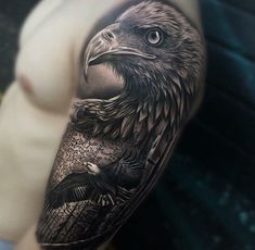 - List of the most beautiful tattoo models Bald Eagle Tattoos, Wolf Tattoos, Animal Tattoos, Tattoo Eagle, Celtic Tattoos, Tattoo Life, Trendy Tattoos, Tattoos For Guys, Tribal Scorpion Tattoo