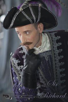 Sir Richard Wadd - Shawn for Eye Candee Visuals Captain Hat, Eyes, Fashion, Moda, Fashion Styles, Fashion Illustrations, Cat Eyes