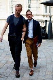On the Street….Men Friends, London