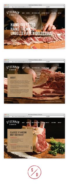 Stockman & Dakota Beef Rebrand on Packaging Design Served