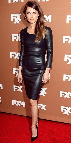 Think, that keri russell leather