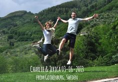 Charlie 03-06-2013 jump for Forestasria organic farm - Tuscany