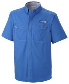 Columbia PFG Low Drag Offshore Shirt for Men - Vivid Blue - XL