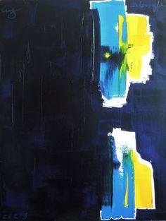 "Saatchi Online Artist Guy Delaroque; Painting, ""Reflection"" #art"