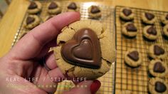 cookies with dove hearts
