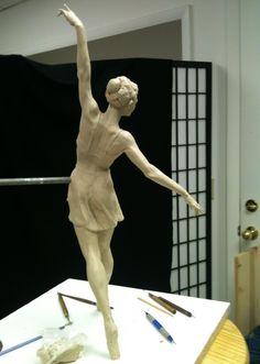 Ballerina back view