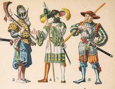 ARMADURA ESPAÑOLA (mitad del siglo XVI ). CABALLO-LIGERO (1540) . ...