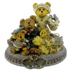 Boyds Bears Gary, Tina, Matt & Bailey...From Our Home To Yours Retired 227804