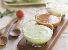 15 sauces pour transformer en festin un buffet ou un déjeuner de soleil, il suffit de verser sur des légumes, une viande rôtie ou un poisson grillé, une sauce divine...