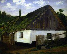 Josef Lada Rodná chalupa 1923 - 25 malba olej