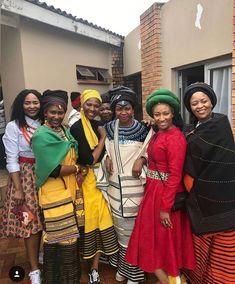Xhosa Attire, African Attire, African Fashion Dresses, African Dress, African Style, African Traditional Wear, Traditional Clothes, African Fabric, Stylish Dresses