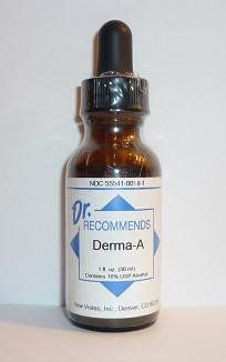 Natural Home Remedy for Acne | Derma-A Homeopathic 1oz by Dr. Recommends www.eVitaminMarket.com
