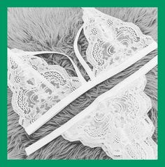 Lace Bralette :: Under Shirt :: Boho Style :: How to wear :: Under wear :: See more Lingerie Ideas + Inspiration Lingerie Outfits, Satin Lingerie, Pretty Lingerie, Beautiful Lingerie, Lingerie Set, Women Lingerie, Lingerie Sleepwear, Nightwear, White Lace Lingerie